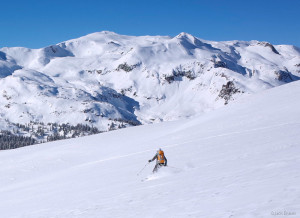 Backcountry skiing, San Juans, Colorado