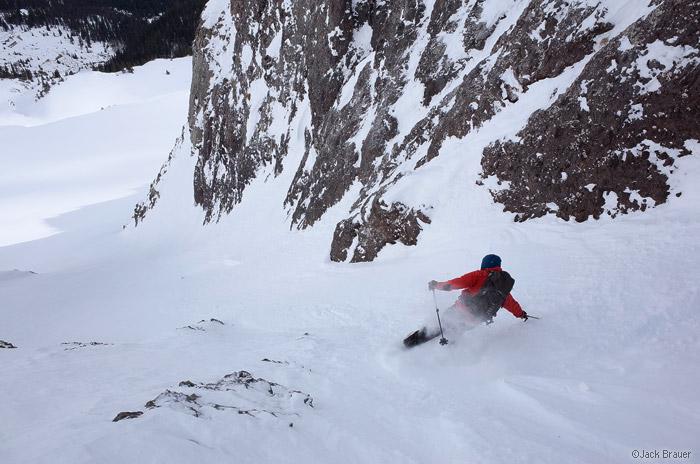 More early season skiing in the San Juans, Colorado
