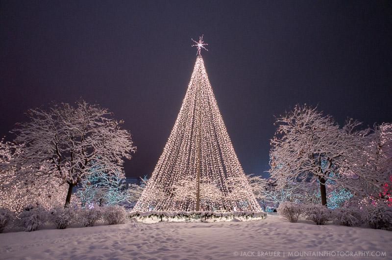 christmas in salt lake city utah - Christmas Mountain