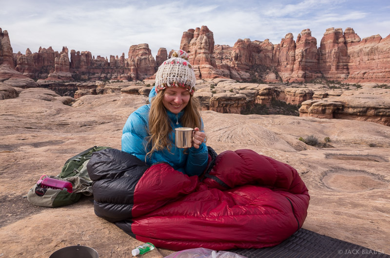 coffee in the canyonlands