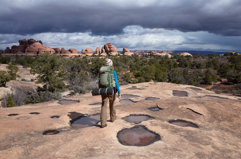 Hiking in the Needles District
