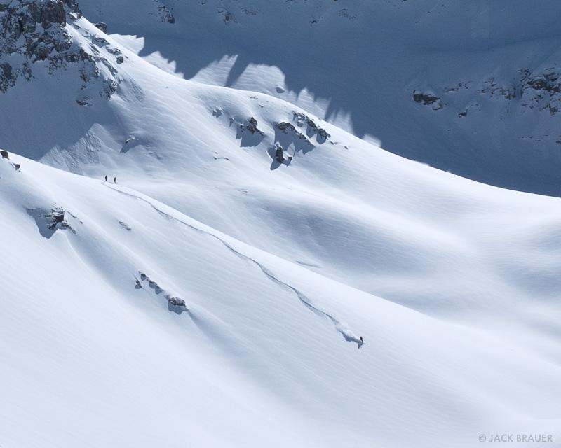 Colorado backcountry skiing