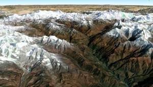 Khumbu - google earth