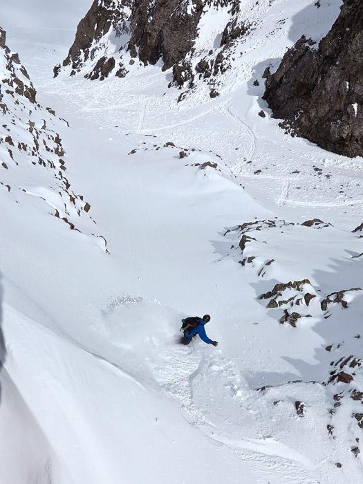 Snowboarder: Jack Brauer. Photo by Dan Chehayl