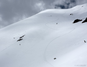 Skier: Chris Cover.