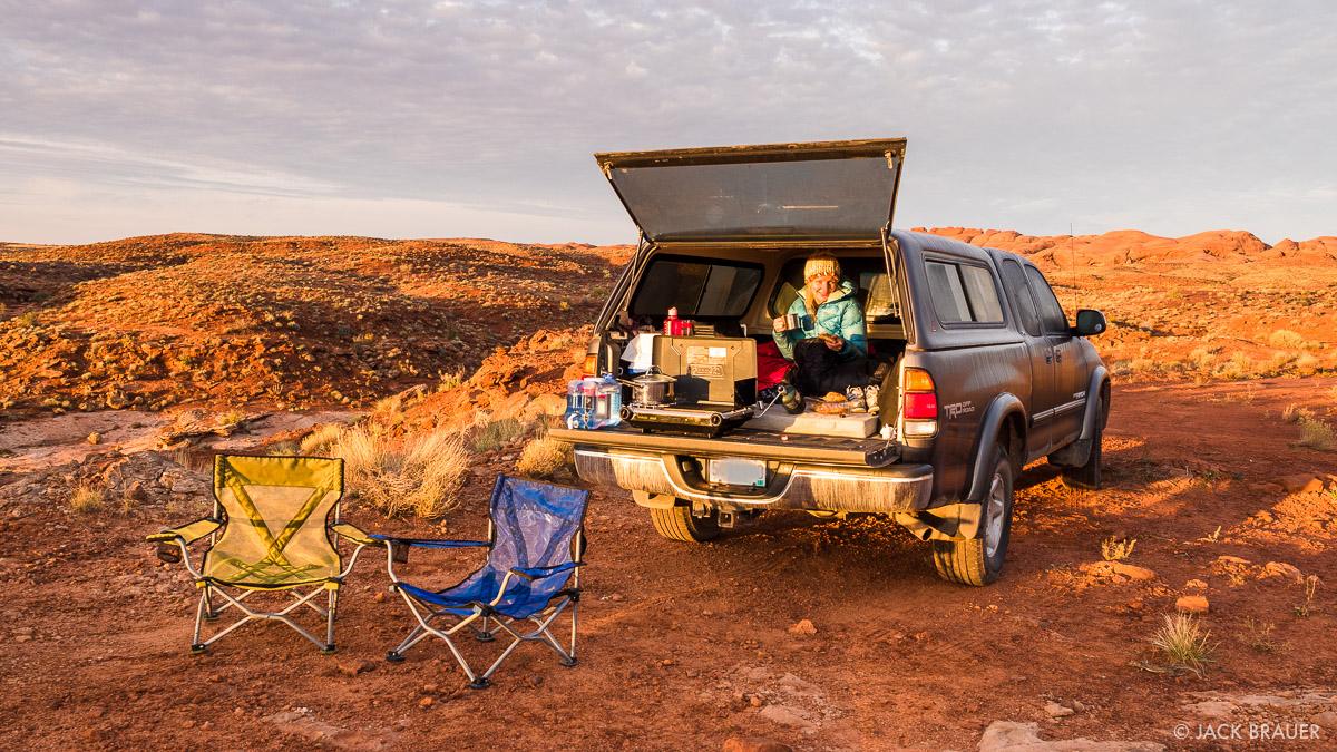 Morning Coffee in the Desert