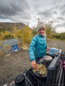 Klondike cooking
