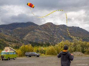Yukon kite flying