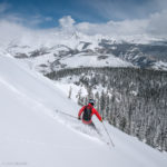 Paul DiG skis Teocalli Bowl on Crested Butte, Colorado - April.