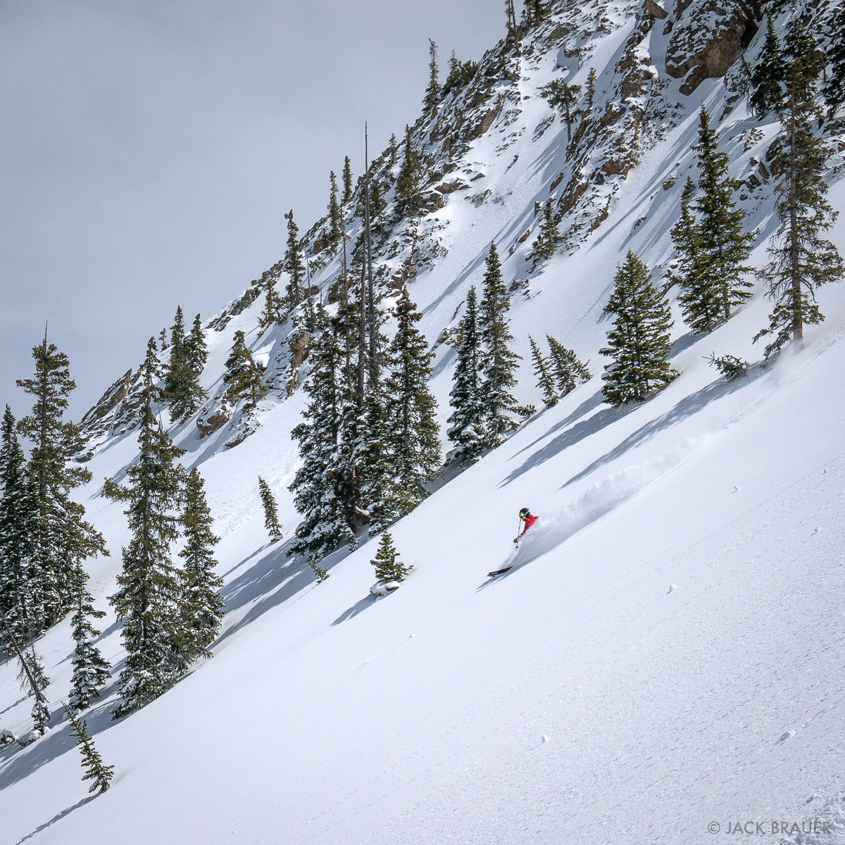 Paul rips down untracked Spellbound Bowl.
