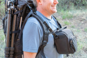Camera Toploader Chest Pouch